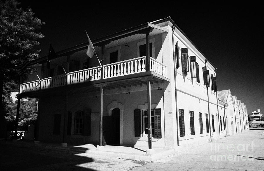 Larnaca Photograph - Municipal Cultural Centre And City Museum And Archives In The Restored Old Colonial Port Larnaca  by Joe Fox
