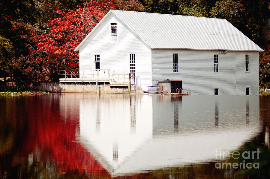 Murray Mill Photograph - Murrays Mill Catawba North Carolina by Kim Fearheiley