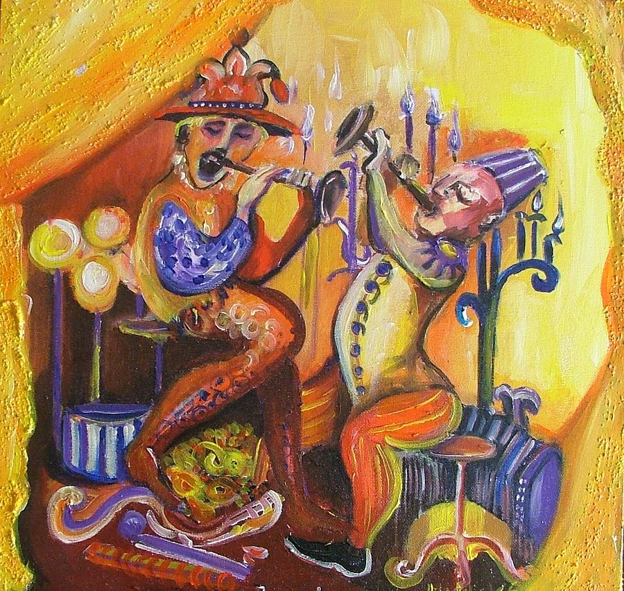 Painting Painting - Musical Evening by Rita Fetisov