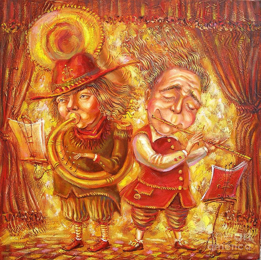 Music Painting - Music Holiday by Aleksandr Mironov