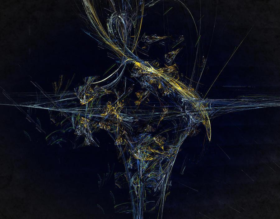 Fractal Digital Art - Music by Nafets Nuarb