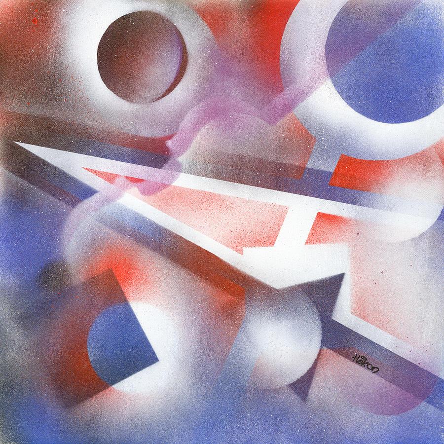 Music Painting - Music Of The Spheres by Hakon Soreide