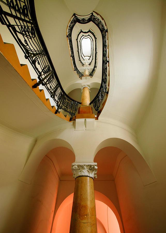Staircase Photograph - Music Score by John Galbo