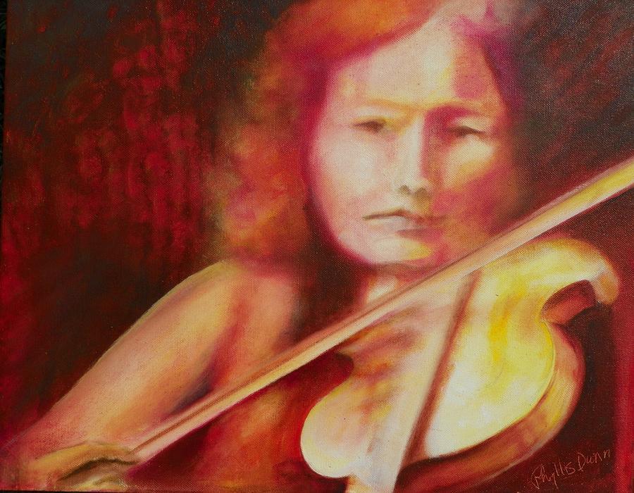 Music Series - Violin by Phyllis Dunn