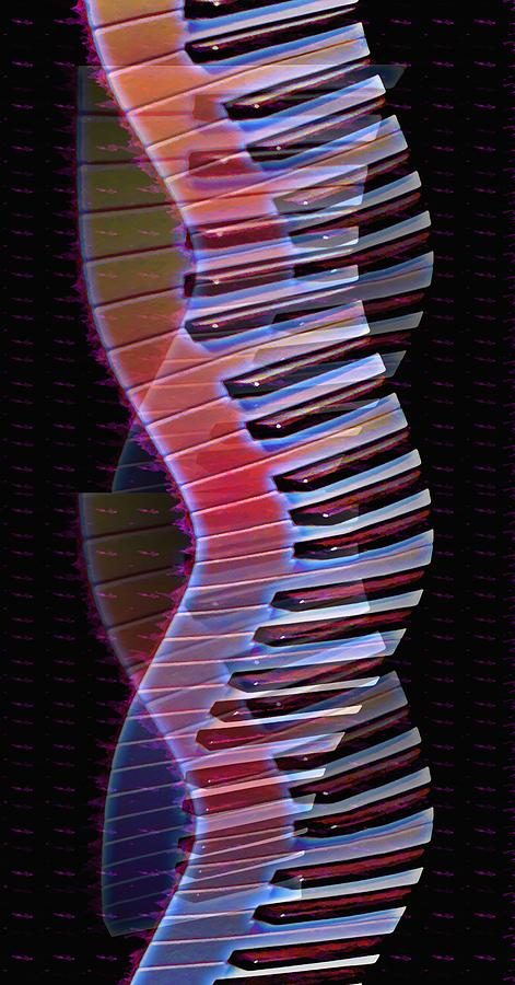 Dna Photograph - Musical Dna by Bill Cannon