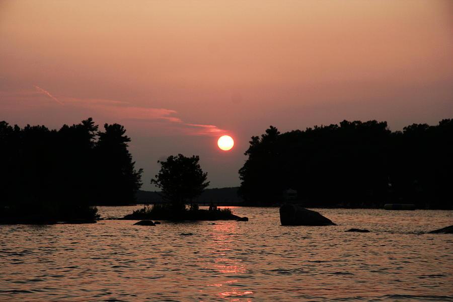 Water Photograph - Muskoka Sunset by Carolyn Reinhart