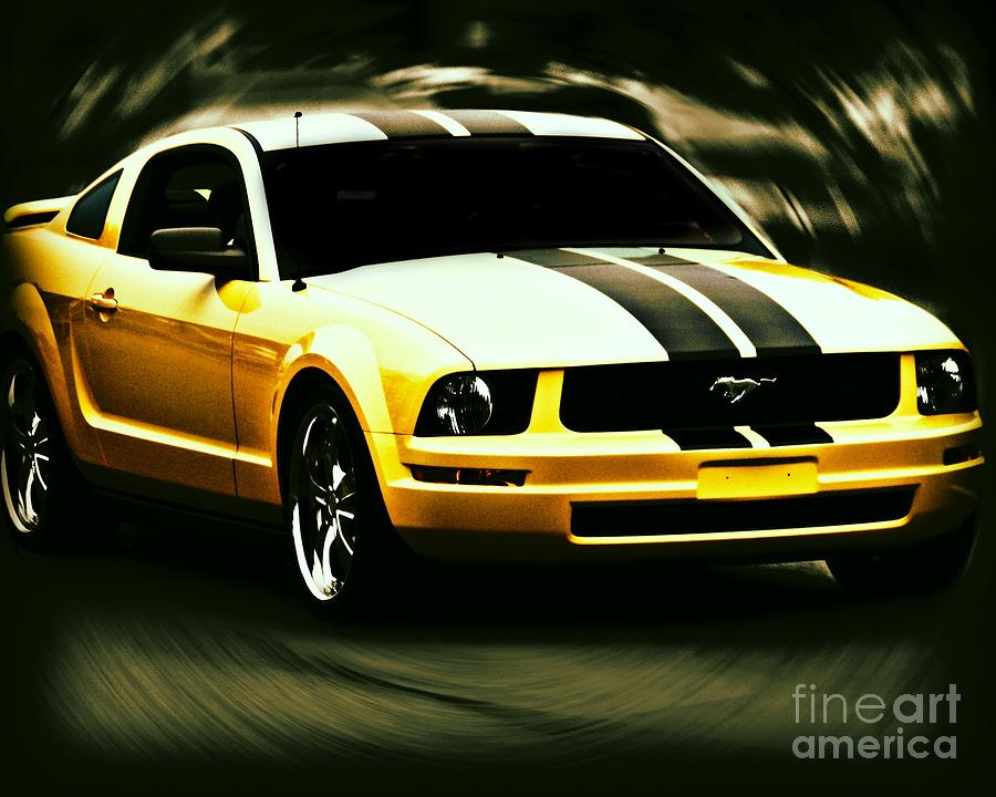 Mustang Photograph - Mustang by Emily Kelley