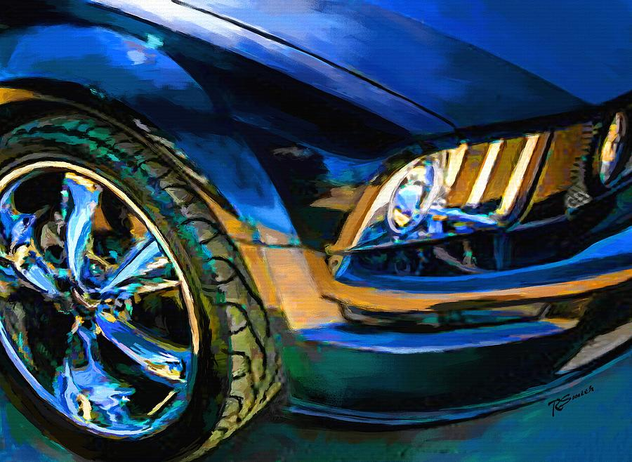 Mustang Painting - Mustang by Robert Smith