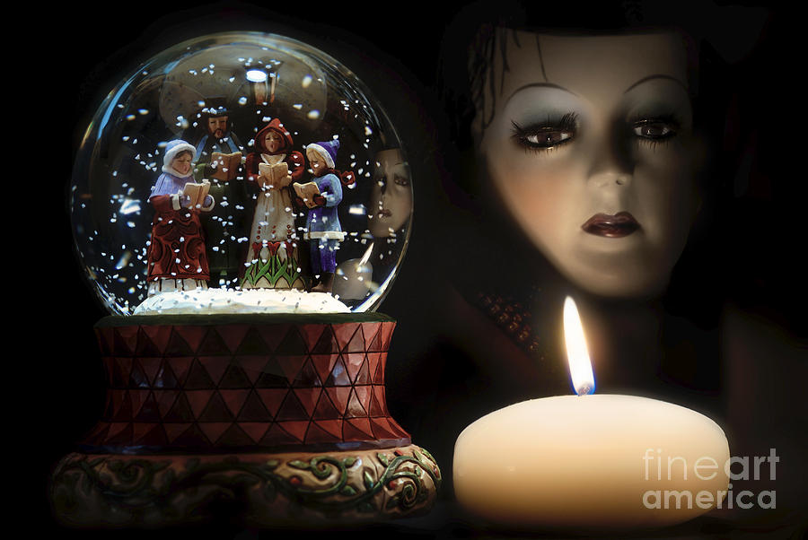 Christmas Digital Art - Muted Carol And Soul by Rosa Cobos
