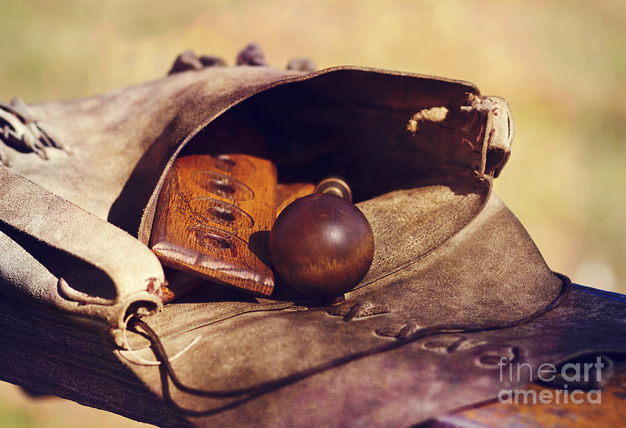 Muzzle Loader S Tools Color Photograph By Pam Holdsworth