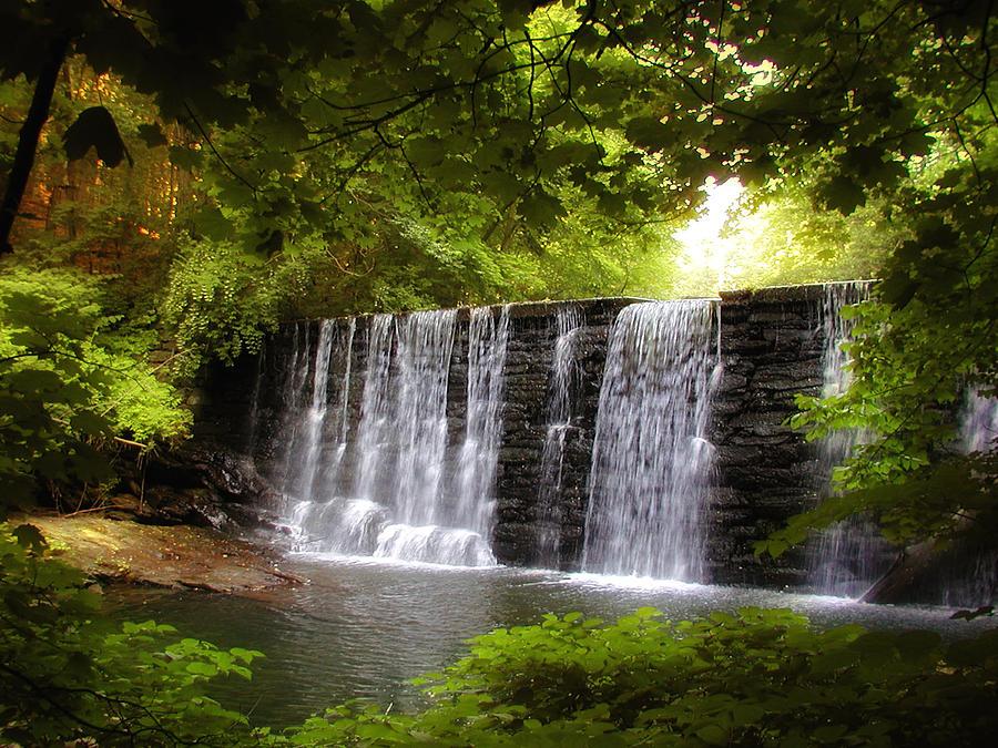 Waterfall Photograph - My Beautiful Waterfall by Bill Cannon