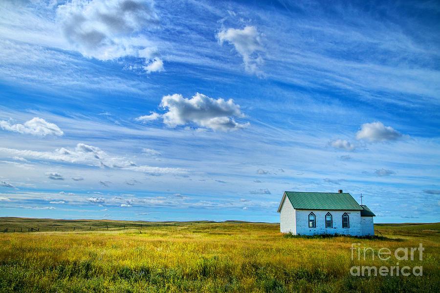 My Church Photograph by Rick Bragan