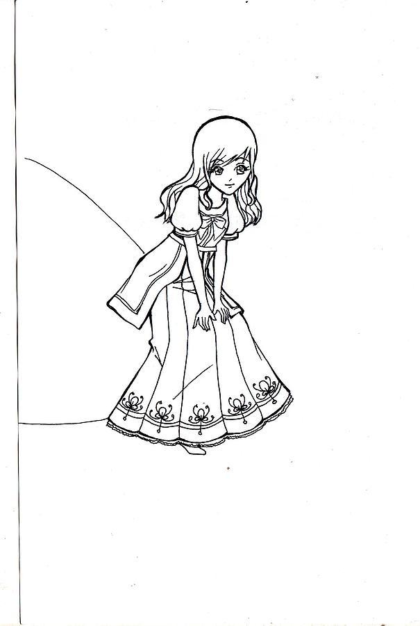 Portrait Drawing - My Drawing 5 by Miftahur Rizqiyah