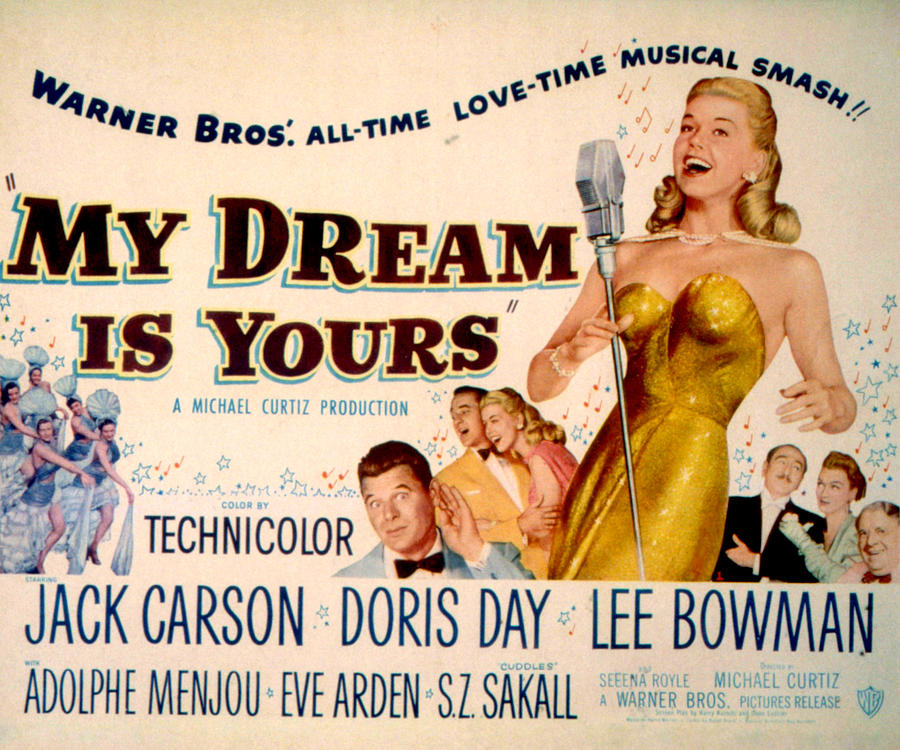 My Dream Is Yours My Dream Is Yours Doris Day Jack Photograph by Everett