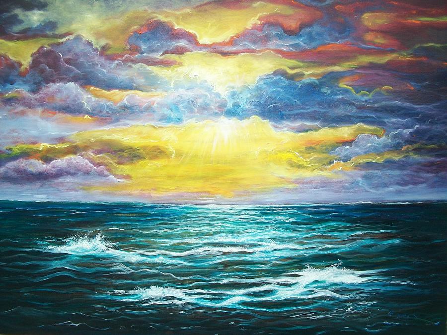 Emery Franklin Painting - My God by Emery Franklin