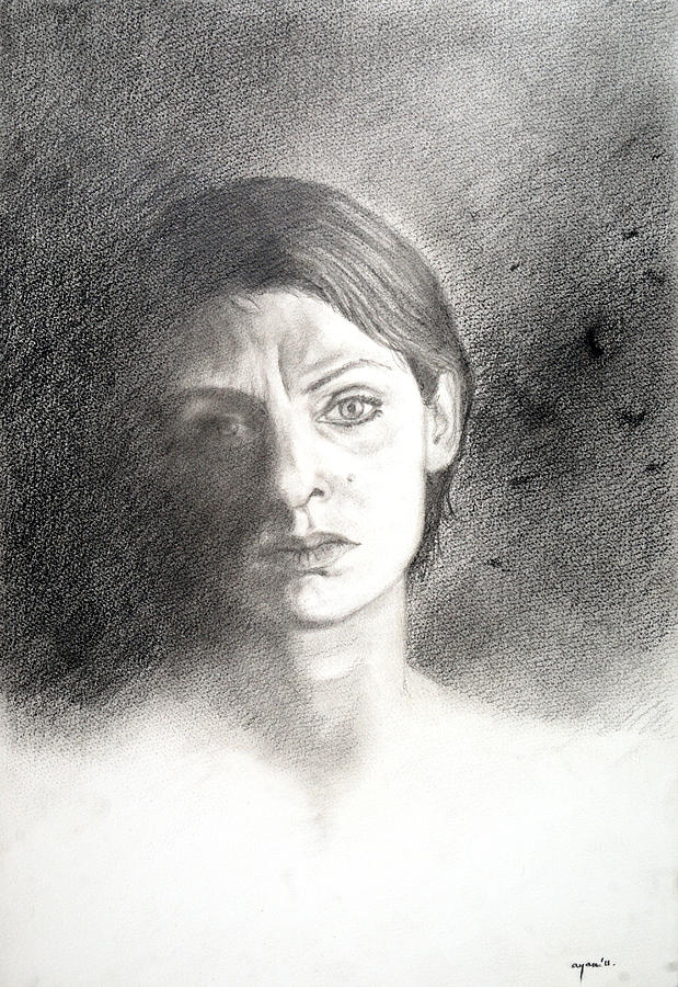 My Life  Drawing - My Life - 3 by Ayan  Ghoshal