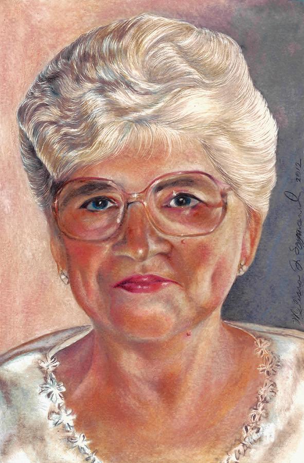 Mom Drawing - My Mom by Melissa J Szymanski