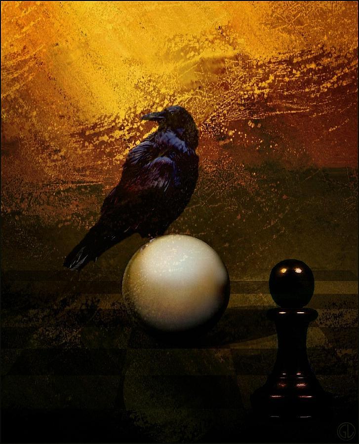 Chessboard Digital Art - My Move by Gun Legler