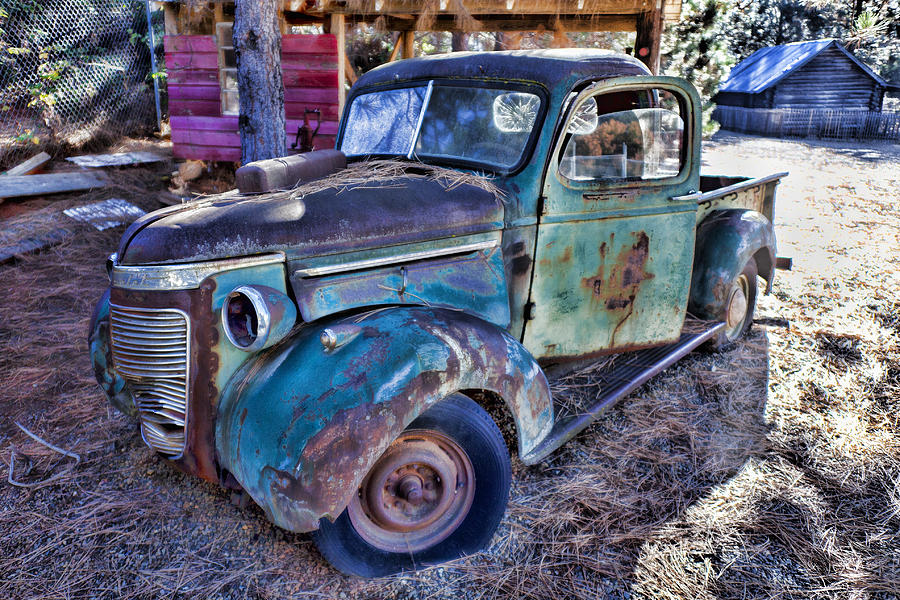 Truck Photograph - My Old Truck by Garry Gay