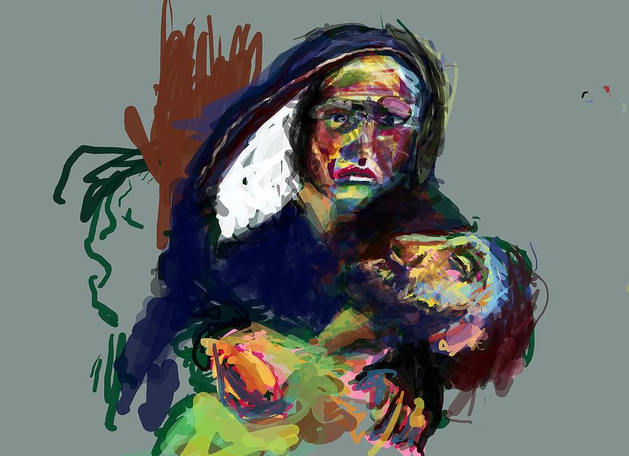 Jesus Digital Art - My Son by James Thomas