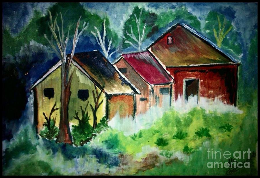 Land Scape Painting - My Soul Keeper by Deepak Kodapally