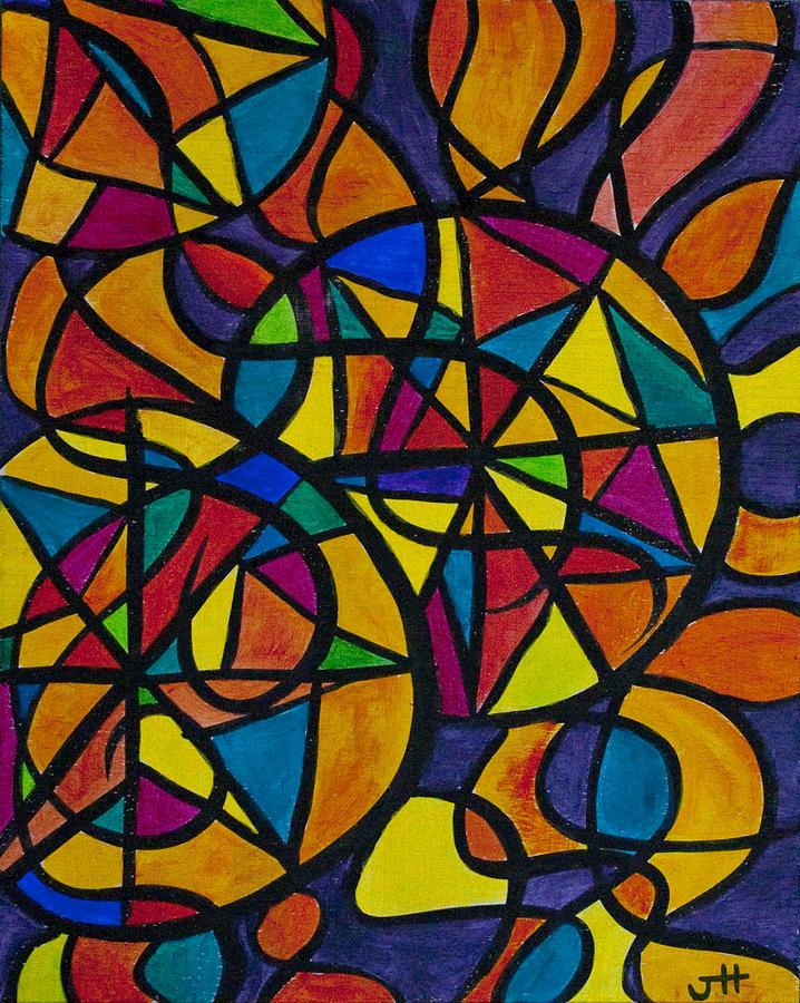 Trinity Painting - My Three Suns by Jaime Haney
