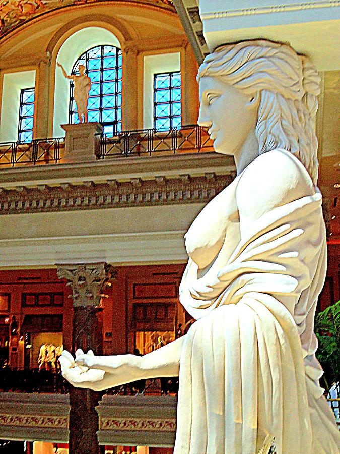 Vegas Photograph - My Vegas Caesars 17 by Randall Weidner