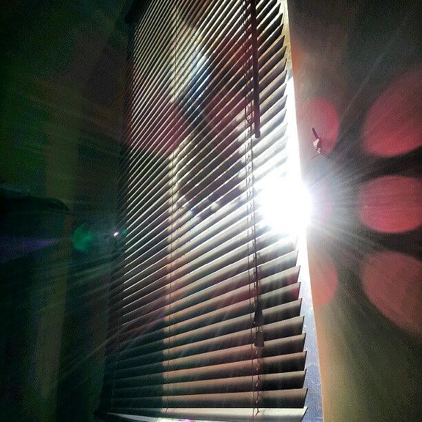 Followme Photograph - My #window In #morning #sunshine #sun by Abdelrahman Alawwad