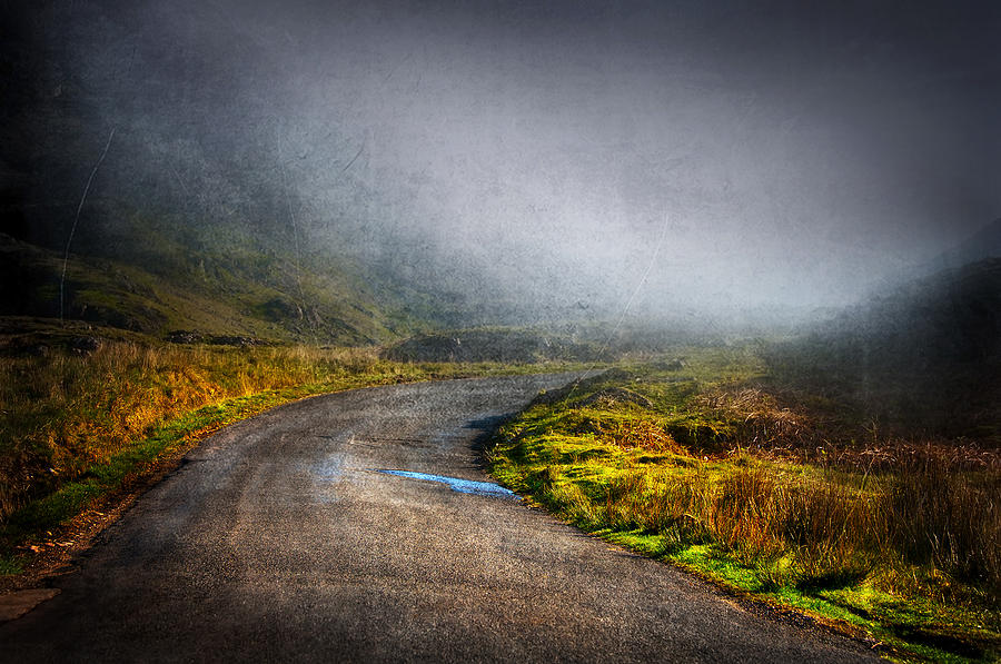 Fog Photograph - Mystery Road  by Svetlana Sewell