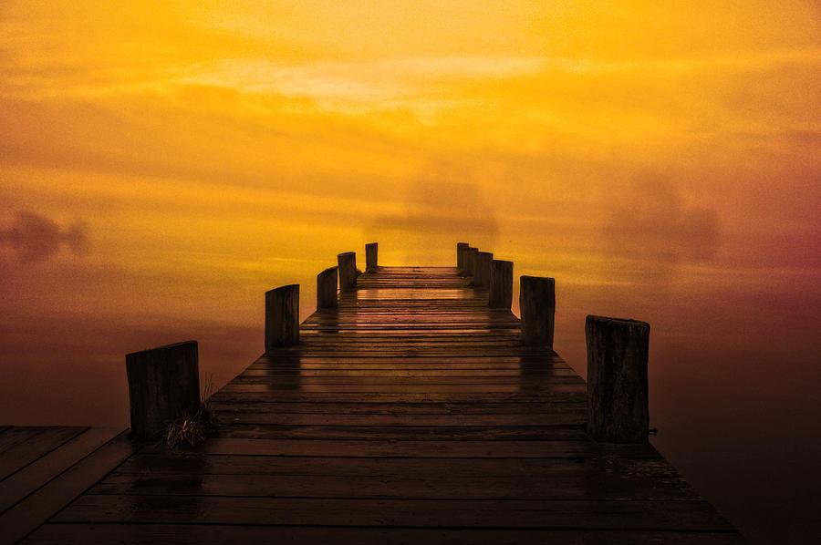 Co Armagh Photograph - Mystic Dawning by Kim Shatwell-Irishphotographer