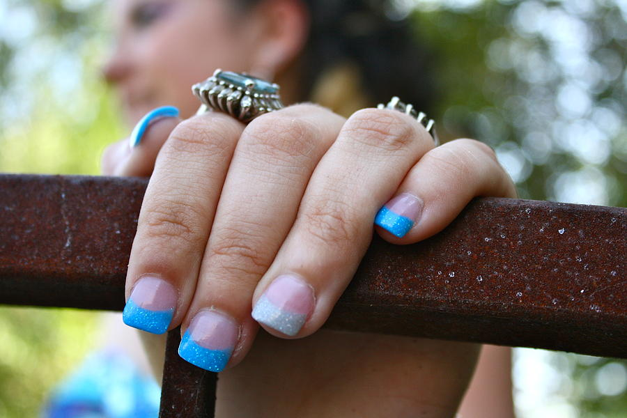 Nailed Prom Nails Photograph by Sherry Klander