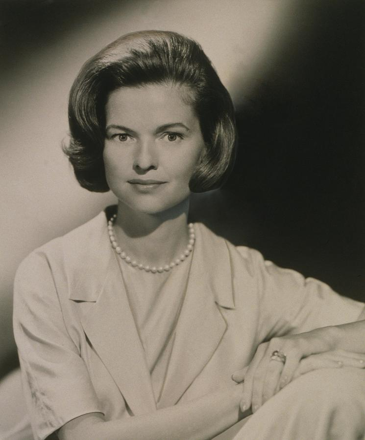 History Photograph - Nancy Dickerson 1927-1997 Was Hired by Everett
