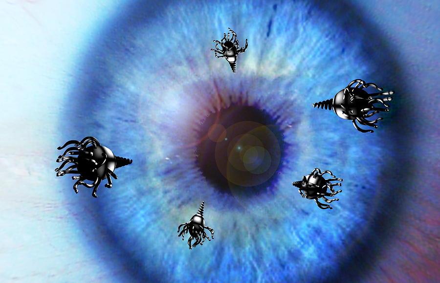 Eye Photograph - Nanorobots by Take 27 Ltd