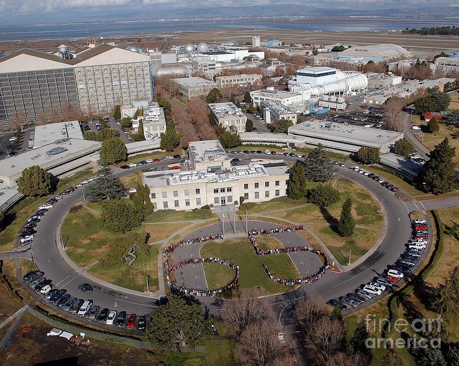 Nasa Ames Research Center Photograph By Nasa