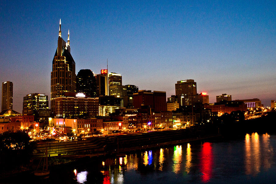 Nashville Photograph - Nashville Skyline by Elizabeth Wilson