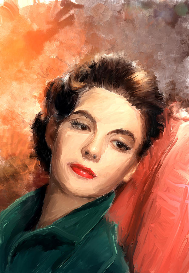 Natalie Wood Painting - Natalie Wood by Scott Melby