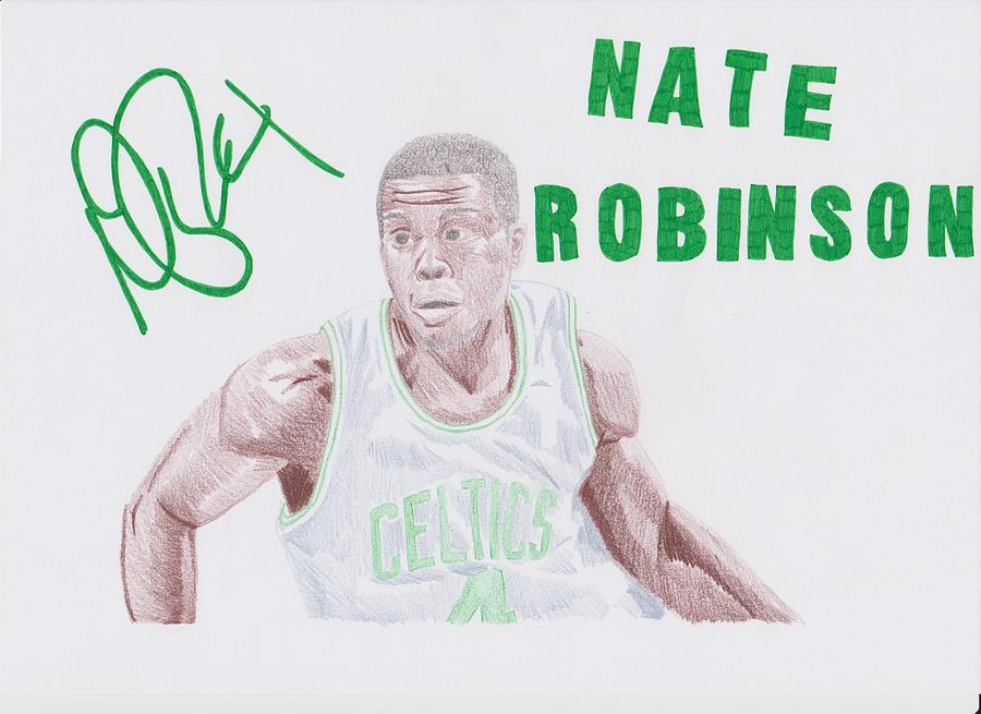 Nate Drawing - Nate Robinson by Toni Jaso