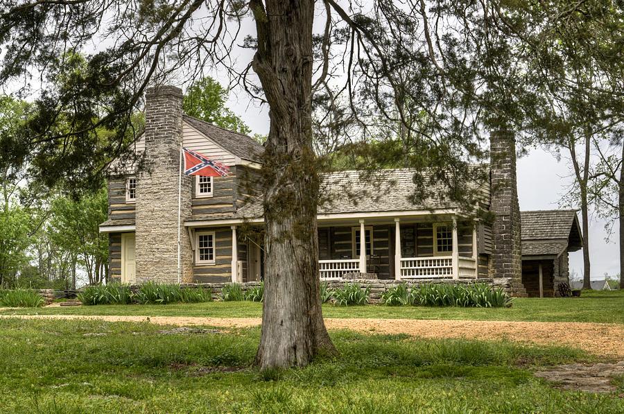 Nathan Photograph - Nathan Bedford Forrest Boyhood Home 4 by Douglas Barnett