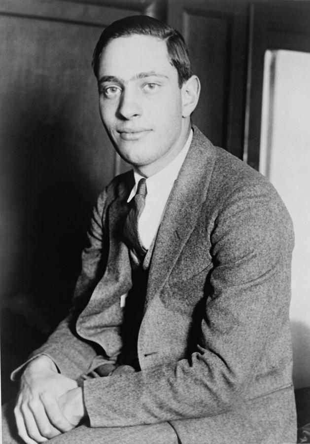 History Photograph - Nathan Leopold, Jr., 1904-1971 One by Everett