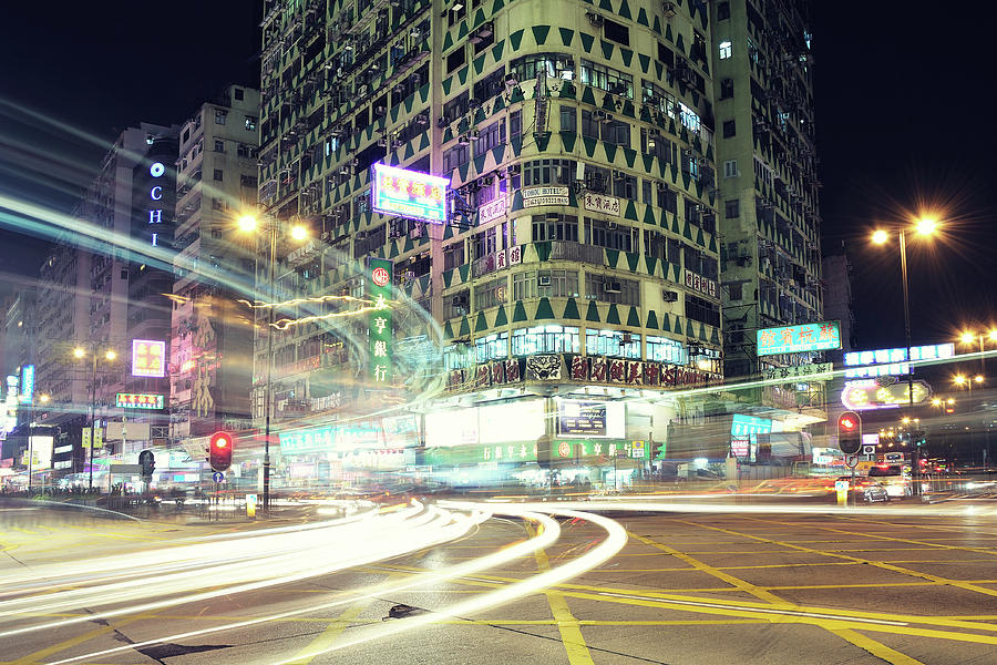 Horizontal Photograph - Nathan Road by Thank you for choosing my work.