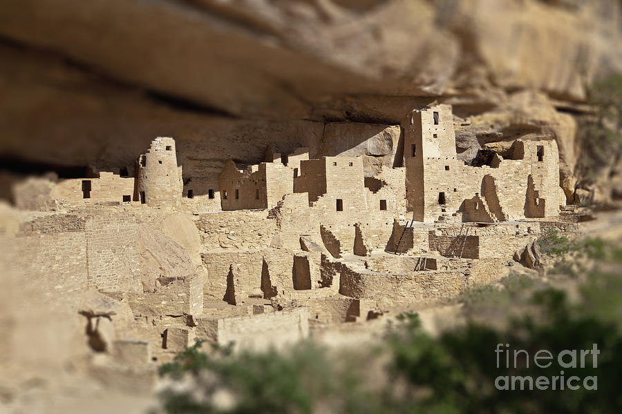 Native American Cliff Dwellings Photograph by Bryan Mullennix