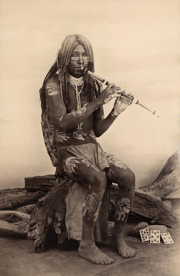 History Photograph - Native American Of Quechan Yuma Tribe by Everett