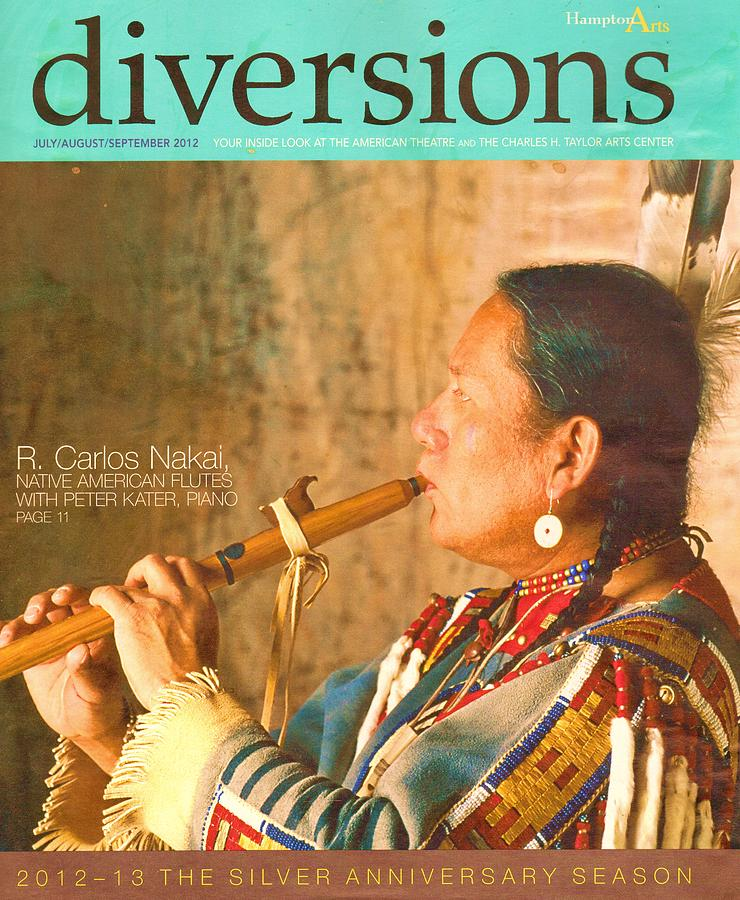 Native American Playing Flute