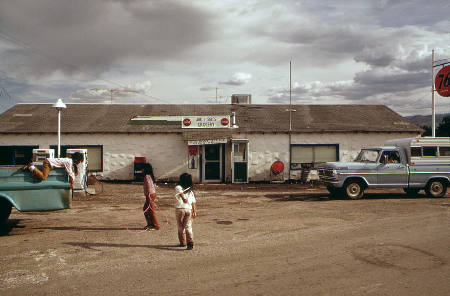 Native American Reservation. Paiute Photograph by Everett Native American Reservations Today