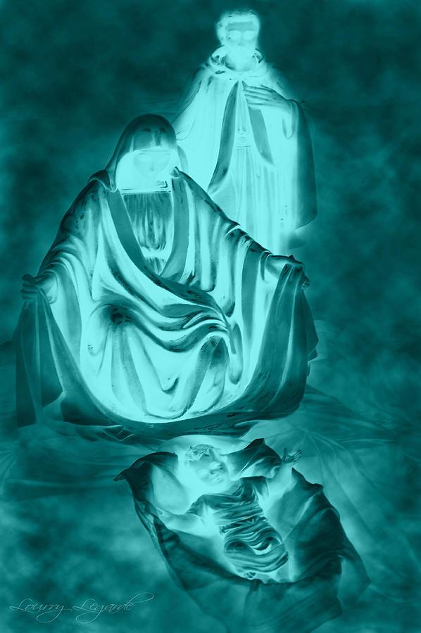 Nativity Photograph - Nativity by Lourry Legarde