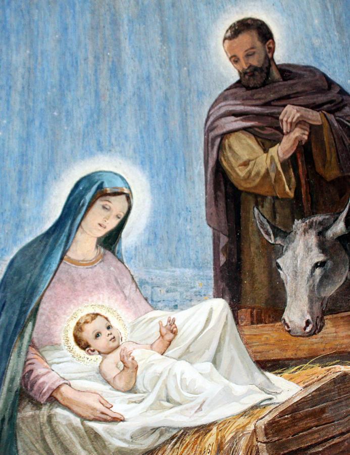 Nativity Photograph - Nativity Story At Shepherds Fields by Munir Alawi