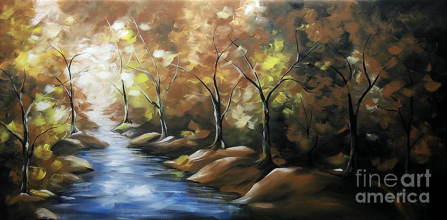 Artist Painting - Nature Beauty 3 by Uma Devi