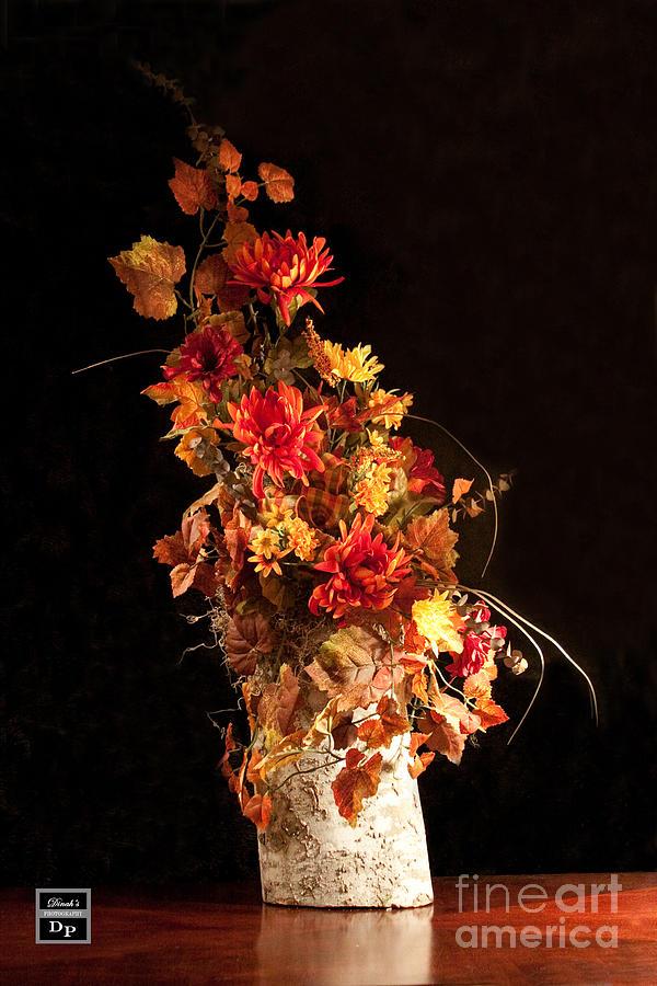 Dinah Anaya Digital Art - Nature In Autumn I by Dinah Anaya