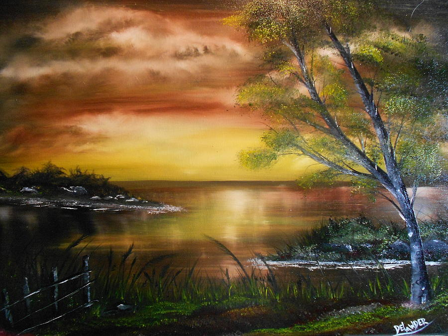 Nature's Gift Painting by Mary DeLawder