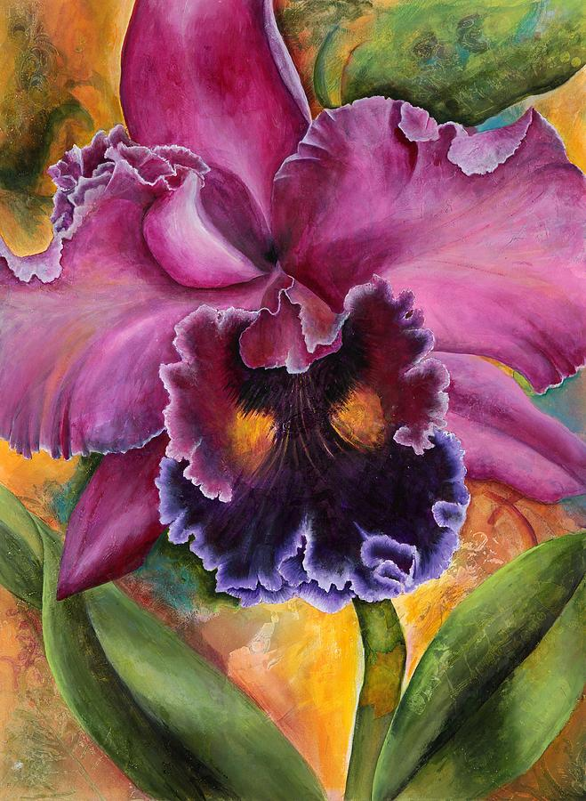 Floral Painting - Natures Rhapsody 2 by Jean Rascher